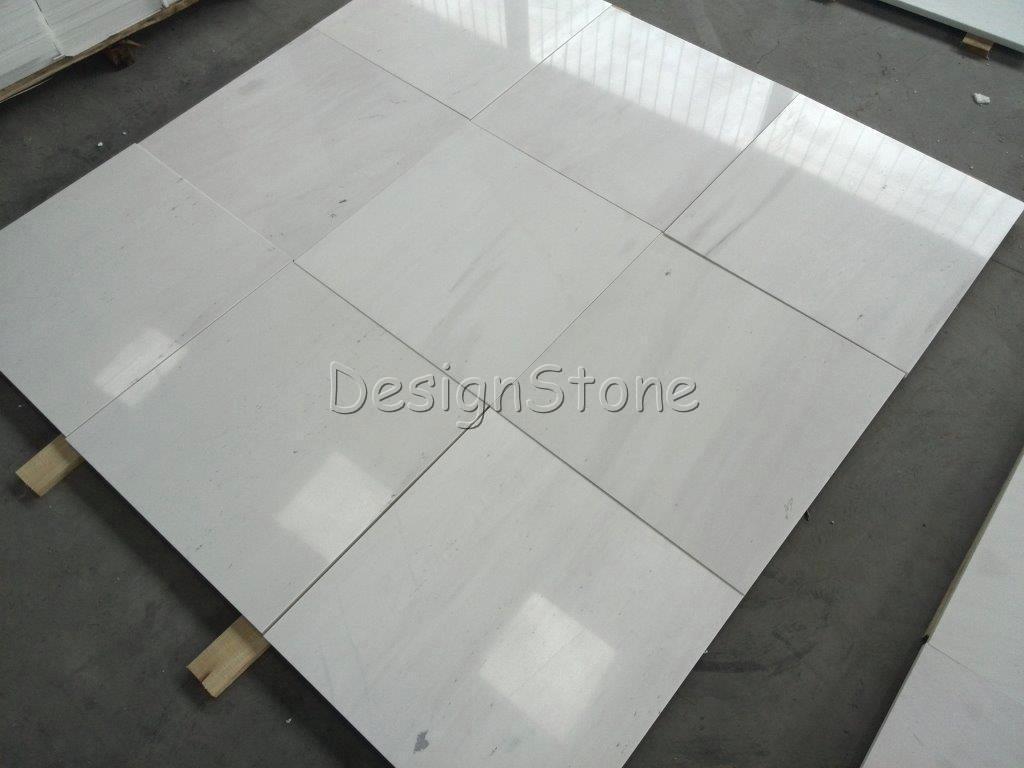 Bianco Sivec white marble tiles