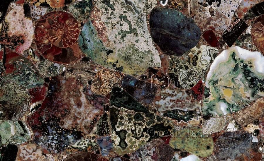 Ocean Jasper Green